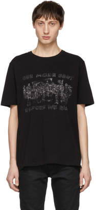 Saint Laurent Black One More Shot T-Shirt