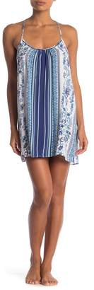 Jonquil In Bloom by Patterned Tie Back Chemise