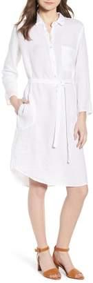 Velvet by Graham & Spencer Linen Shirtdress