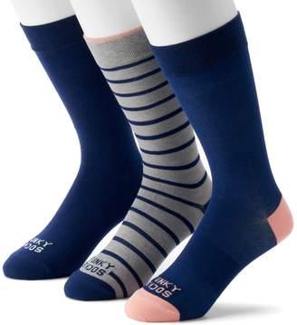 Americana Men's Funky Socks 3-pack Casual Crew Socks