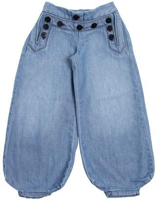 Chloé Washed Light Denim Harem Jeans
