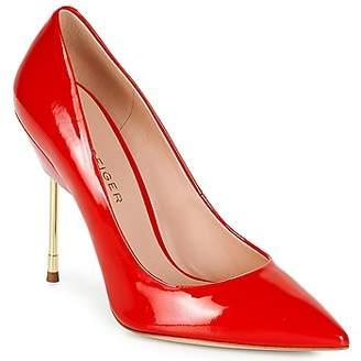 KG by Kurt Geiger FULL-COURT-METAL-HEEL-RED women's Heels in Red