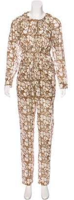 Stella McCartney Long Sleeve Floral Print Jumpsuit w/ Tags