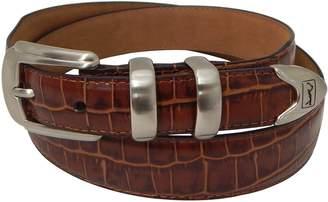 Equipment Pga Tour Men's PGA Tour Tapered Faux-Crocodile Leather Golf Belt