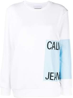 CK Calvin Klein logo print sweatshirt