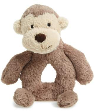 Jellycat 'Monkey' Grabber Rattle