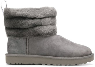 UGG Fluff Mini Quilted boots