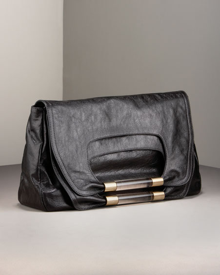 Chloe Nancy Large-Flap Clutch