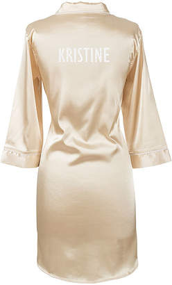 Cathy's Concepts CATHYS CONCEPTS Personalized Glitter Script Satin Night Shirt