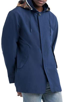 Herschel Stowaway Camo-Hood Coat
