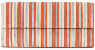 Diane von Furstenberg striped clutch bag