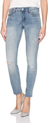 Miraclebody Jeans Miracle Body Women's Ideal Skinny Jean, Portrero/Destruction