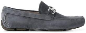 Salvatore Ferragamo 694947 NERO Buffalo Leather