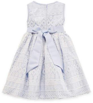 Princess Faith Embellished Sleeveless Party Dress - Preschool Girls