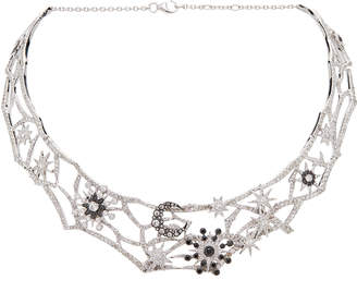 Colette Jewelry Star And Moon Choker