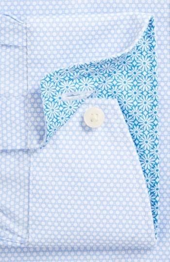 Men's Ted Baker London Carver Trim Fit Geometric Dress Shirt 3