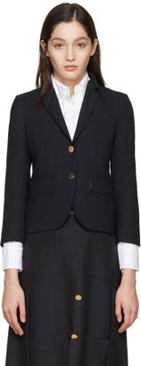 Thom Browne Navy Classic Blazer $2,430 thestylecure.com