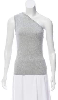 Michael Kors Metallic-Accented Cashmere-Blend Sweater