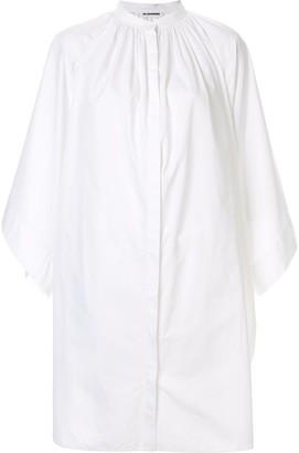 Jil Sander billowing structured blouse