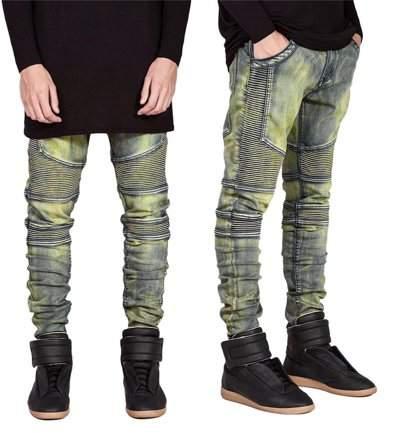 Every Denim Trousers Elastic Jeans Casual Slim Men Jeans Long Pants Size 30
