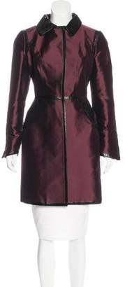 Dolce & Gabbana Long Sleeve Trench Coat
