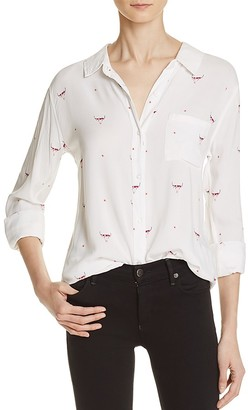 Rails Rocsi Print Button-Down Shirt $148 thestylecure.com
