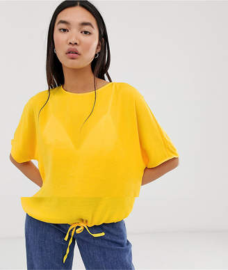Noisy May Drawstring Tie Top