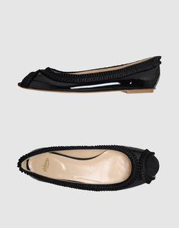PeepToe ARFANGO - ALBERTO MORETTI Peep-toe ballet flats
