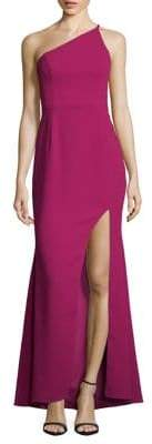 Xscape Evenings One-Shoulder Gown