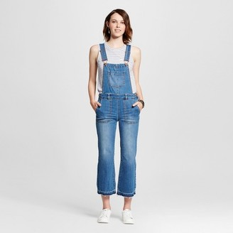 Dollhouse Women's Released Hem Cropped Denim Overalls - Dollhouse (Juniors') $39.99 thestylecure.com