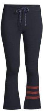 Sundry Striped Kick Flare Pants