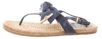 Tory Burch Bow Espadrille Sandals