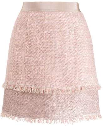 Pinko tweed mini skirt