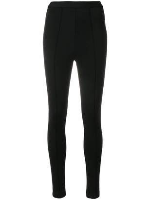 Balenciaga High waisted leggings with rear logo
