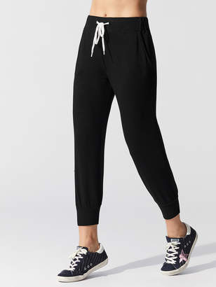 Monrow Cropped Sporty Sweat