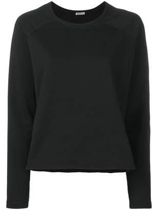 Barena asymmetric hem boxy-fit sweatshirt