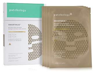 Ash Patchology Detox SmartMud No Mess Mud Sheet Mask for Deep Cleaning Pores and Blackheads w/ Volcanic