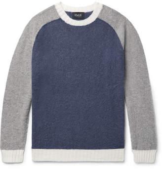 Howlin' Megatron Man Colour-Block Wool Sweater
