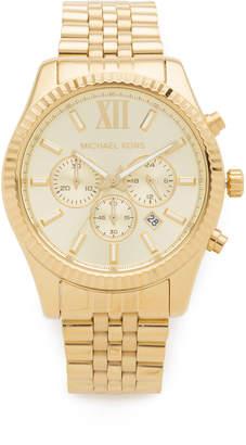 Michael Kors Oversized Lexington Watch $275 thestylecure.com