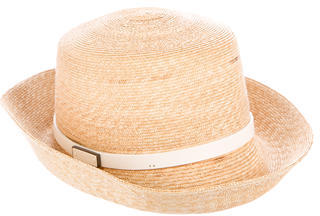 Burberry  Burberry Straw Nova Check Hat