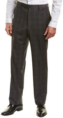 Brioni Flat Front Wool Trouser