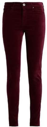 AG Adriano Goldschmied Cotton-Blend Velvet Skinny Pants