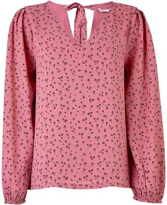 Dorothy Perkins Womens **Only Dusky Pink Floral Print Top