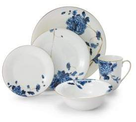Gourmet Dining Prouna Emperor Flower Dinner Plate