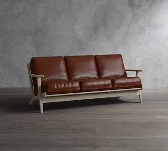 Pottery Barn Raylan Leather Sofa Collection