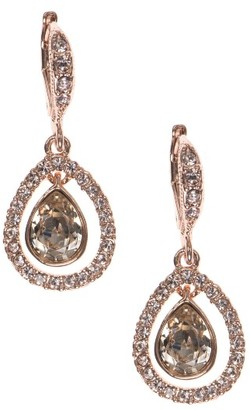 Women's Givenchy Crystal Drop Earrings $45 thestylecure.com