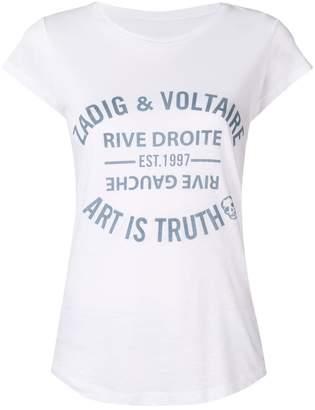 Zadig & Voltaire Zadig&Voltaire logo print T-shirt