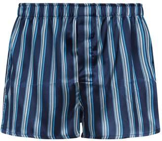 Derek Rose Silk Boxer Shorts