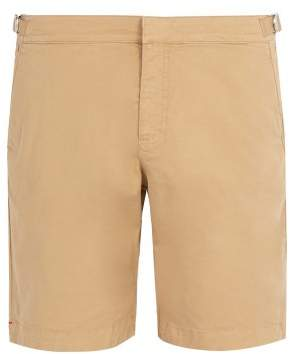 Orlebar Brown Dane Ii Cotton Shorts - Mens - Brown
