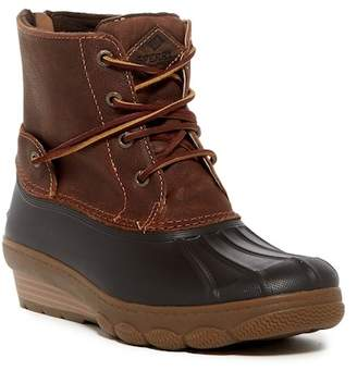Sperry Saltwater Wedge Tide Leather Boot